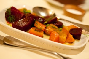 Beet salad with dill
