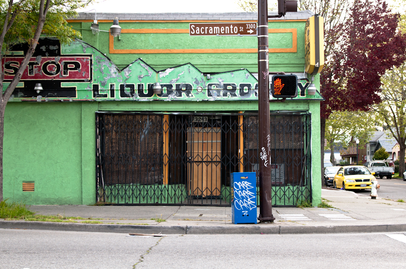 Derelict Storefront, Berkeley CA, April 2011