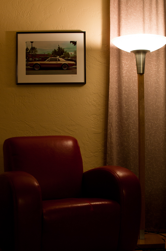 Lamp, Chair, Photograph