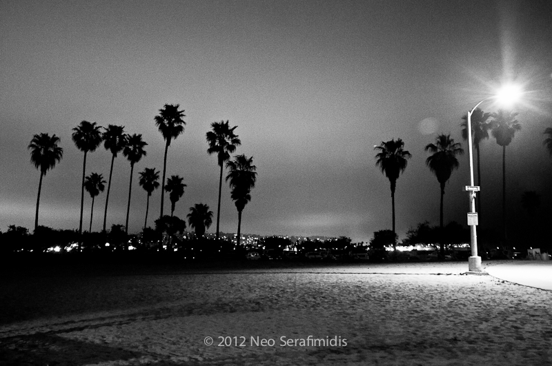 Mission Beach Night #4 BW