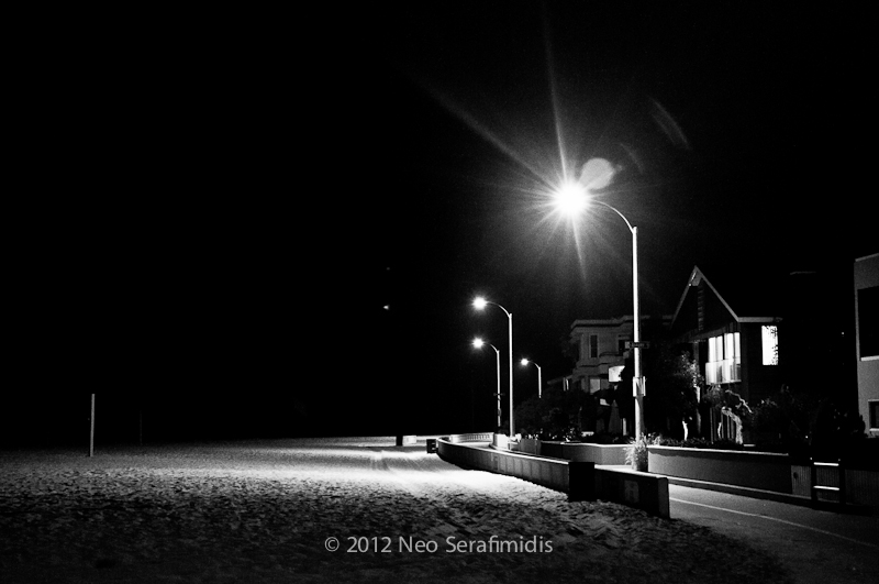 Mission Beach Night #9 BW