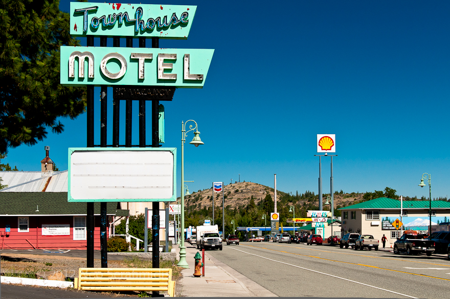 Town House Motel, Weed CA, July 2012