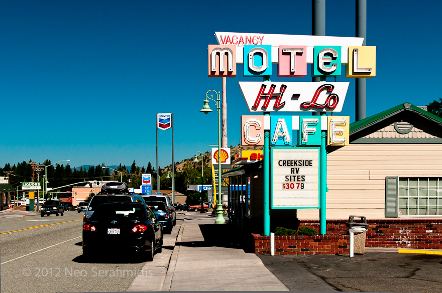 Hi-Lo Cafe and Motel, Weed CA