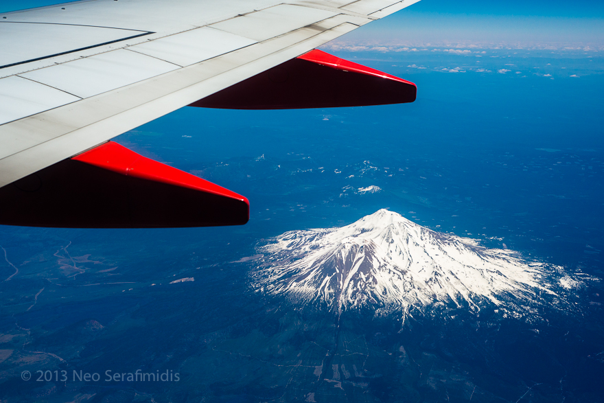 Mt Shasta From the Air