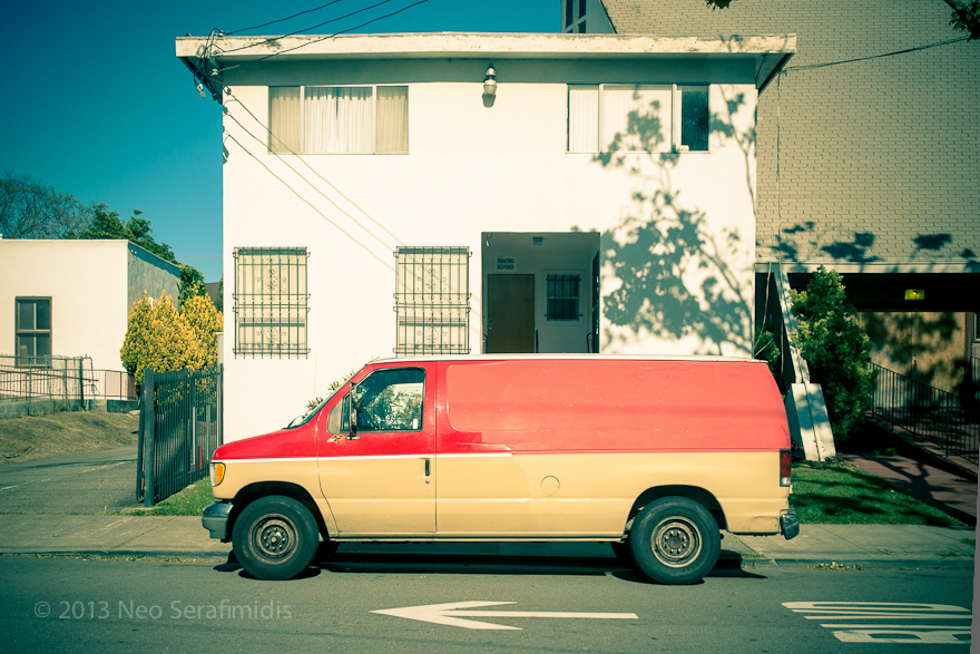 Red and Tan. Berkeley, CA. April, 2013