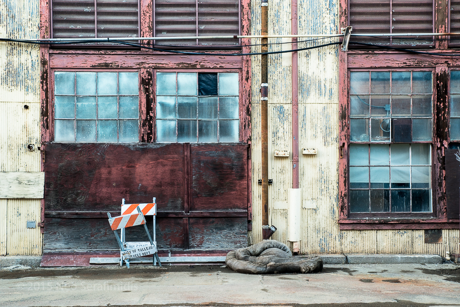Mare Island Set One #11 - Mare Island Naval Shipyard, Vallejo CA. November, 2015.